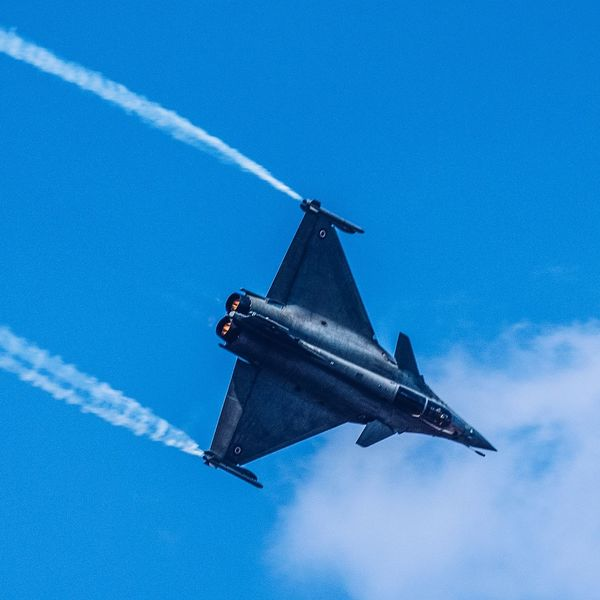Dassault Rafale Indian Air Force IAF India Army Rafale Fighter Plane Fighter Jet EyeEm Selects Airshow Vapor Trail Blue Air Vehicle Transportation Airplane Low Angle View Military Aerospace Industry Sky Day No People Flying Space Exploration Fighter Plane Aerobatics Military Airplane Air Force Outdoors Navy EyeEmNewHere
