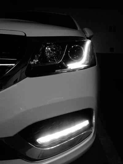 angel eyes Chery Arrizo3 Car Land Vehicle Close-up Headlight