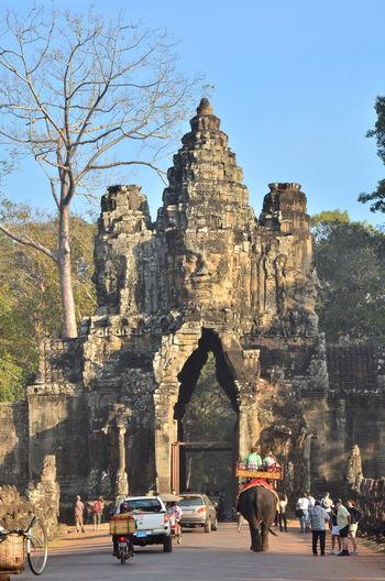 Entrance of bayon temple