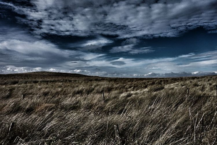 Fenwick Moor Fenwick Scotland. Cloud - Sky Dramatic Sky Landscape Rural Scene No People Beauty In Nature Sky Landscape Landscape_Collection Sony A5000EyeEm Gallery Travel Photography Big_sky Grass Landscape_photography