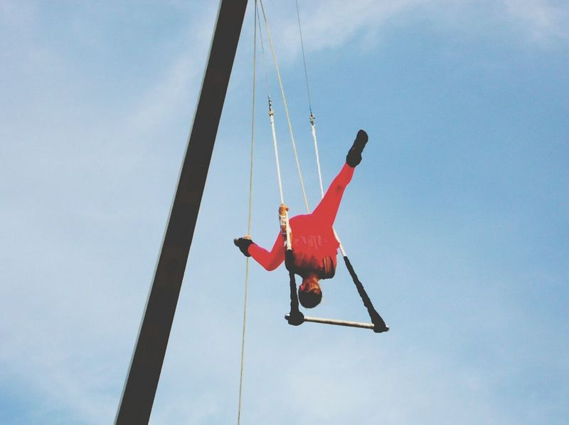 Air Gymnastics Enjoying Life Hello World Artistic