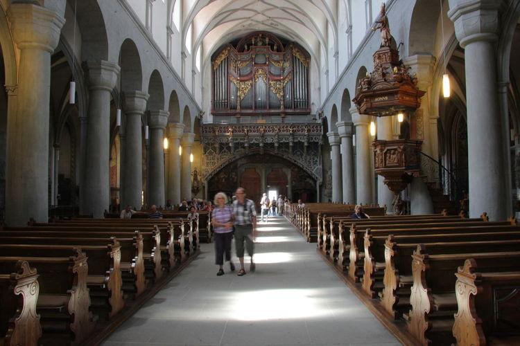 Church Church Column Constance Deutschland Germany Konstanz Orgue Religion Tourism