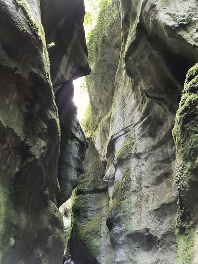 Gorges Du Fier Lac Annecy France Beauty In Nature Rock - Object Rock Face