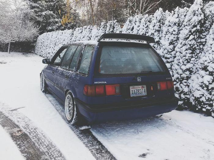 EF PNW Honda Snow