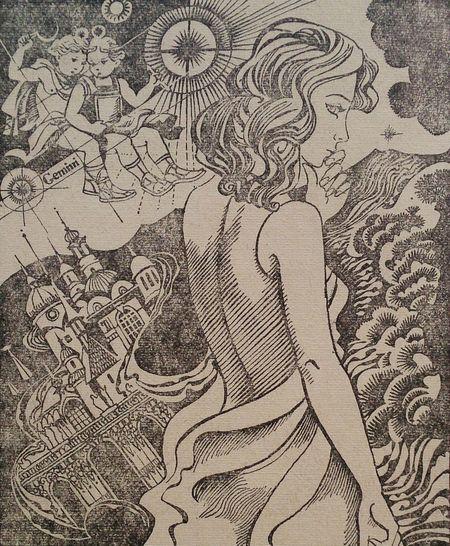 "Художник Р.Авотин, 1979. К сборнику ""Фантастика-79"". книги иллюстрация Books ArtWork"