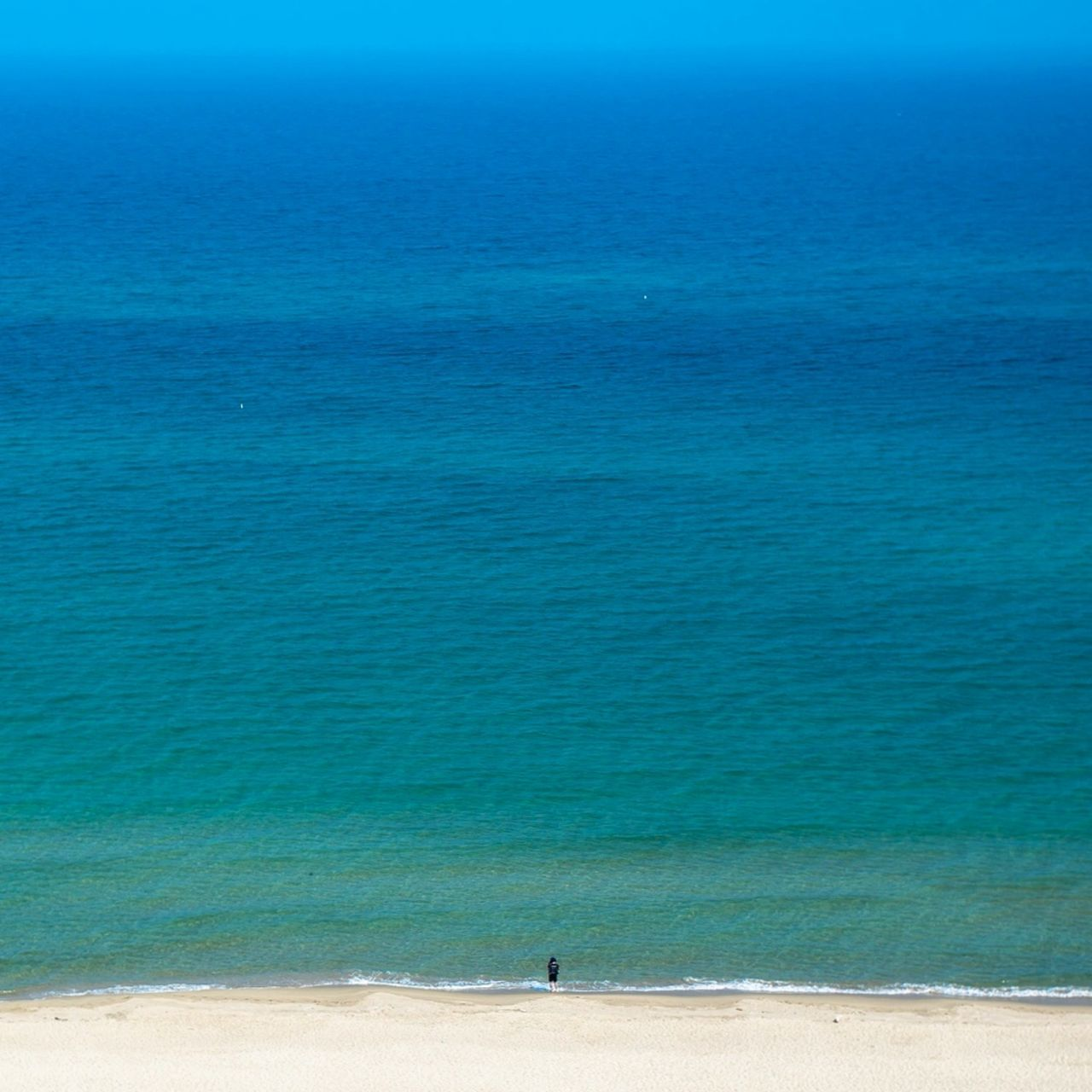 High Angle View Of Seascape
