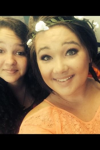 Me and my beautiful cousin !!!!!! ??? Are We Cute Yet? Hanging Out Hi! Cheese!