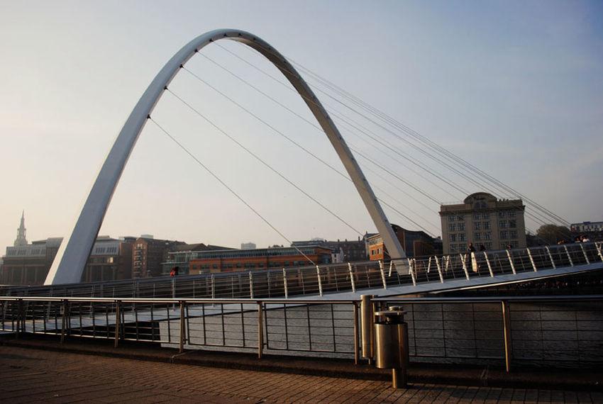 Architecture Bridge Bridge - Man Made Structure Built Structure City City Life Cityscape Cloud Modern River Sky Tourism View