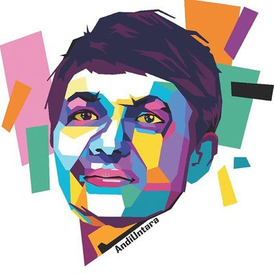 Face Colouring  Draw Wpap Art Artdaily Popart Design Gift Andiuntara By_riobhintoroo Photoshop Psd  Jpeg Image Edit Indonesian Instagram
