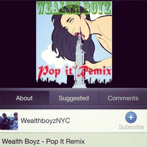 Check It Out On Youtube!! #WealthBoyz!