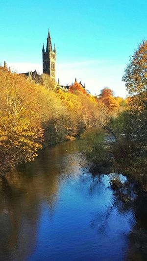 River Kelvin Kelvingrove Park Autumn Colours