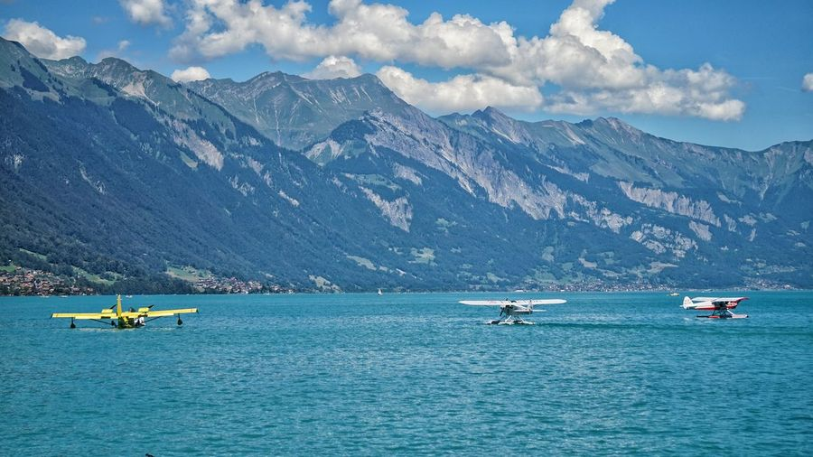 Eye4photography  Landscape_photography Seaplane EyeEm Nature Lovers View Lake Landscape Landscape_Collection Bernese Oberland EyeEm Best Edits Check This Out Clouds And Sky Enjoying The Sights Cloud Formations EyeEm Nature Lover Switzerland Not In Canada