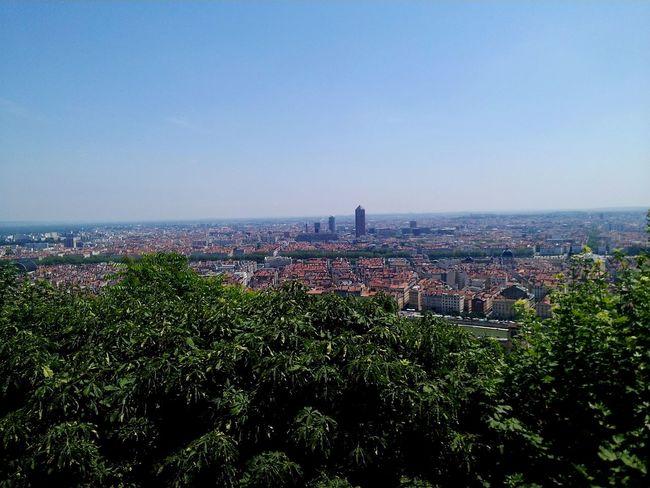 City Cityscape Sky Plant Travel Destinations Nature No People Urban Skyline Day France Lyon
