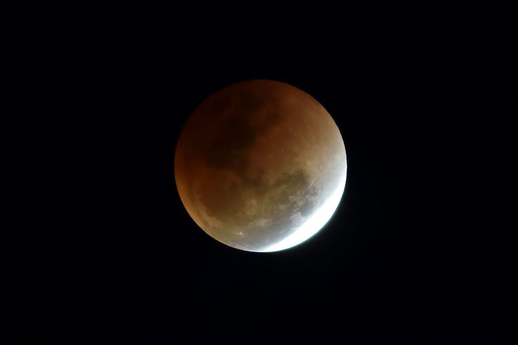 Lunar eclipse Lunar Eclipse Oramge County California Astronomy Beauty In Nature Blood Moon Moon Moon Surface Nature Night No People Outdoors Planetary Moon Scenics Sky Space