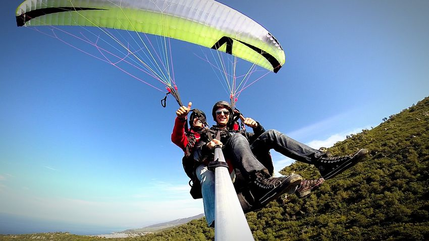 Me Freedom Paragliding Sports Photography EyeEm Best Shots - Sports Panoramic Photography EyeEm Best Shots Parapendio Sky RePicture Leadership