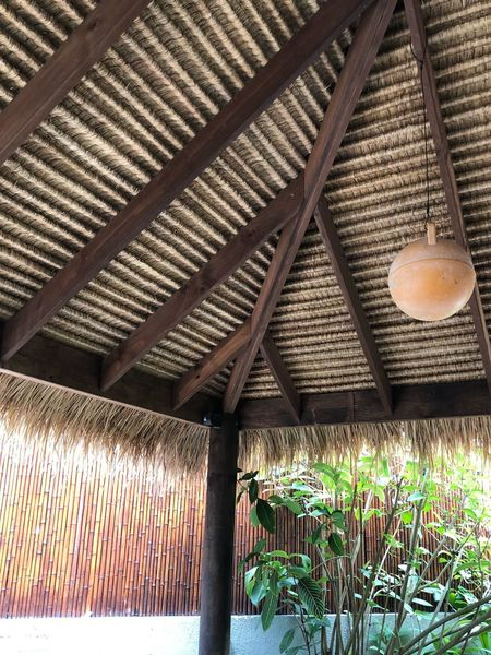 Balinese Hut Balinese Architecture Thatched Roof Bali Plant Day Architecture No People Built Structure Ceiling Roof Nature