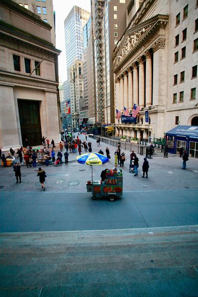 Wall street Newyorkcity Manhattan Building Exterior Built Structure Architecture Real People