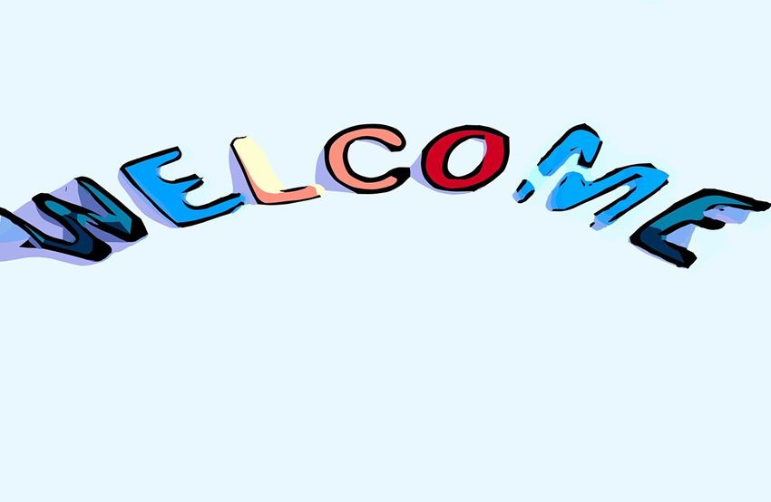 Welcome Vector ABC Buchstaben Worte Colors Colorfull Wallpapers