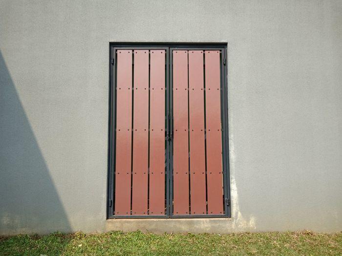 Wooden gate,