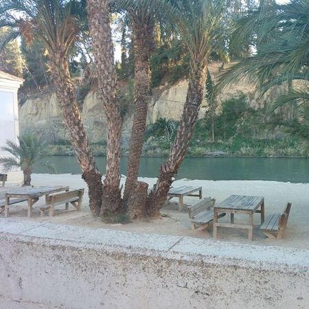 Río Segura a su paso por Blanca. River Murcia Blanca Nature