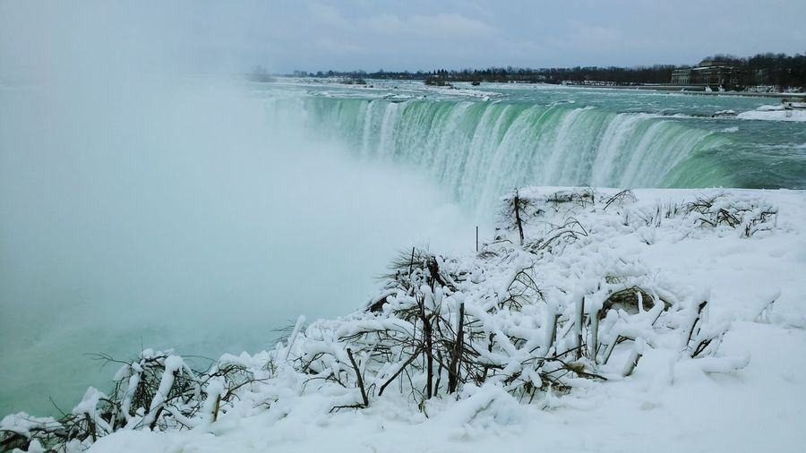 Seeing The Sights at Niagara Falls Toronto Winter Wonderland Tourist Attraction  White Christmas❄⛄ Winter Landscape Discover Your City Travel Photography Icicles Travel Destinations Toronto Canada Outdoors Beauty In Nature Nature Niagara Falls Winter Outdoor Travel Destination