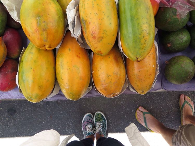 Papaya. The Market Series Eat More Fruit São Paulo 2014