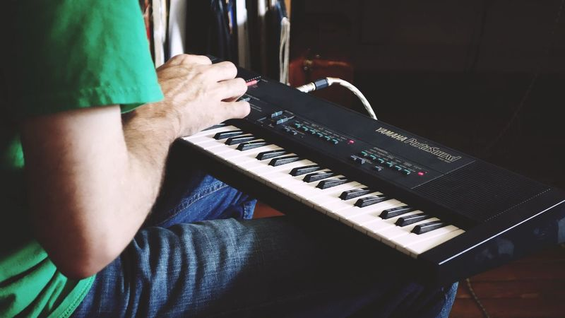 The Amazing Human Body Playing Music What Does Music Look Like To You? Relaxing My Hobby Keyboard Hobby Listening To Music Enjoying Life Husband's Hand