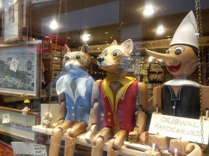 Human Representation Marionettes