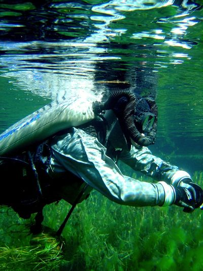 Floating On Water Rebreather Diving SCUBA Scuba Divers... Scuba Diving Sea Life Swimming Thuringen Thüringen_entdecken Thüringenentdecken Underwater Underwater Photografy Underwater Photography Underwater World Underwaterphotography Underwaterworld Water