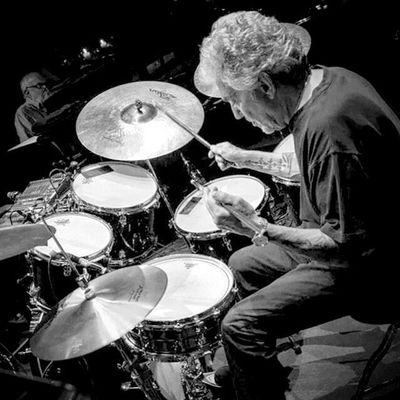 My all-time king of groove , Dr Steve Gadd