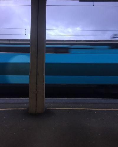 Transportation Rail Transportation No People Public Transportation Day Sky Train Train Station Vitesse