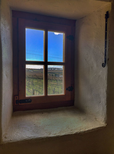 Wine farm window... Architecture My Year My View Rural Scenic Sky Thick Walls Window Wine Farm