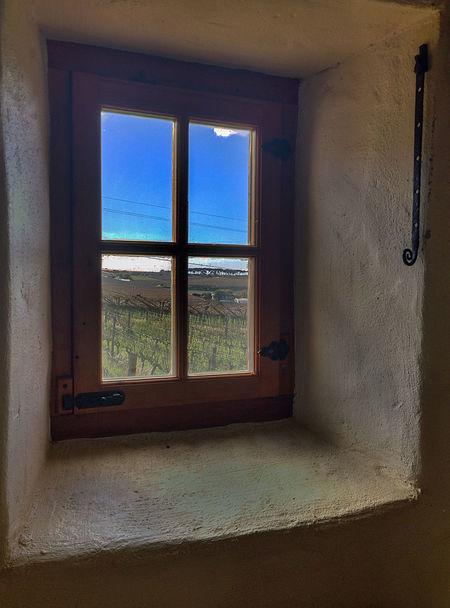 Wine farm window... Architecture My Year My View Rural Scenic Sky Thick Walls Window Wine Farm