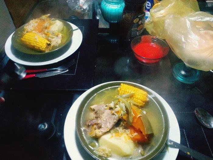 Un almuerzo tipico chileno