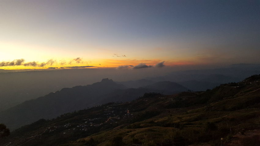 Beauty In Nature Mountain Mountain Peak Nature Scenics - Nature Sky Sunbeam