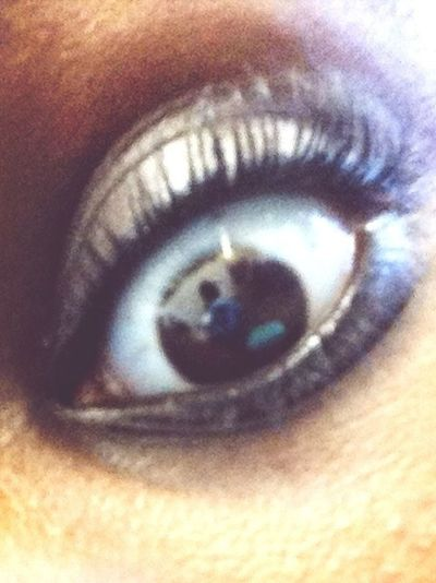 My eye lashes was just on point ;p
