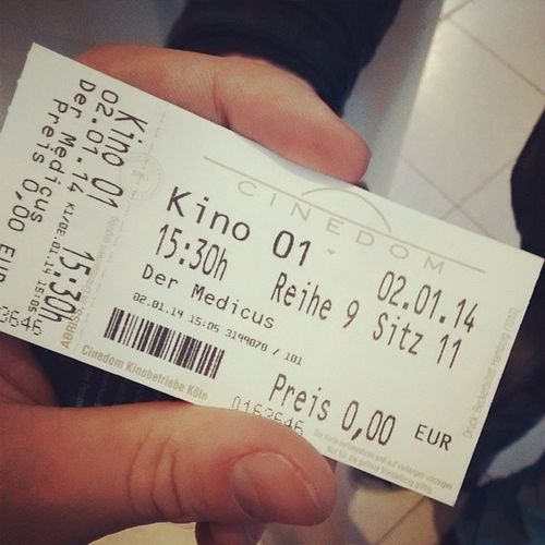 Wir gehen dann mal ins Kino. Kostenlos Medicus