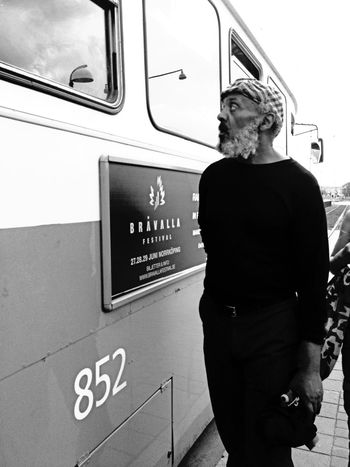 I'm always looking out of my own eyes. Streetphotography Blackandwhite Streetphoto_bw Graslund