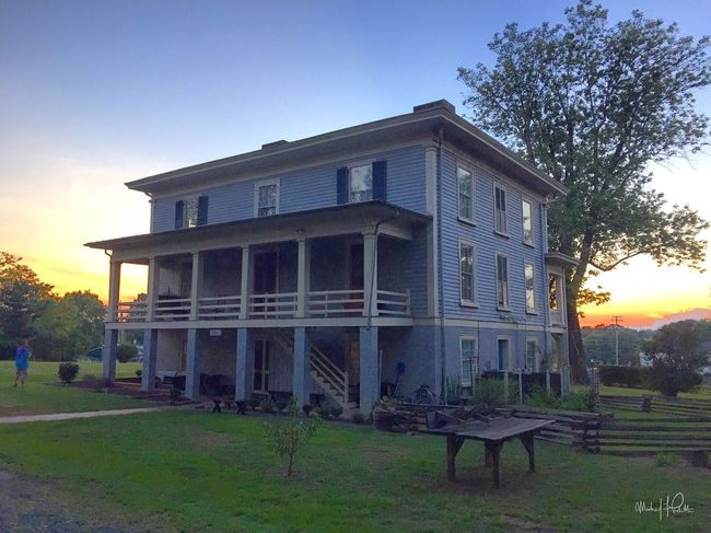 8.27.16 | Investigating the legitimately haunted Exchange Hotel/ makeshift soldier hospital (during the Civil War) with friends | Gordonsville, VA | Photo: Michael F. Pichette/ NOVA Paranormal Research Architecture Building Exterior Architecture Taking Photos History Historic Virginia Civil War Haunted Hotel