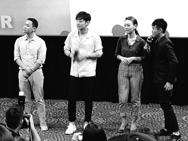 Korean Actor Kang Ha-neul Movie Preview Gala Premier Midnight Runners 31 August 2017 Singapore Sg_streetphotography Streetphotography Bnwphotography Bnwstreetphotography