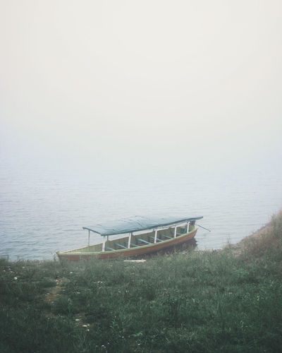 boat and lake