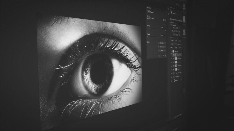 Eye see...