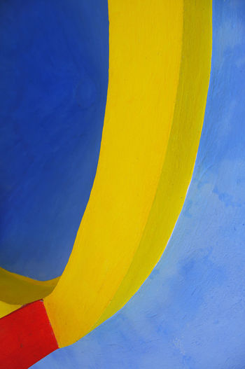 Abstract architectural detail in Las Huastecas of San Luis Potosi, Mexico Abstract Architecture Backgrounds Blue Built Structure Close-up Creativity Day Full Frame Multi Colored No People Outdoors Paint Pattern Vibrant Color Wall - Building Feature Yellow