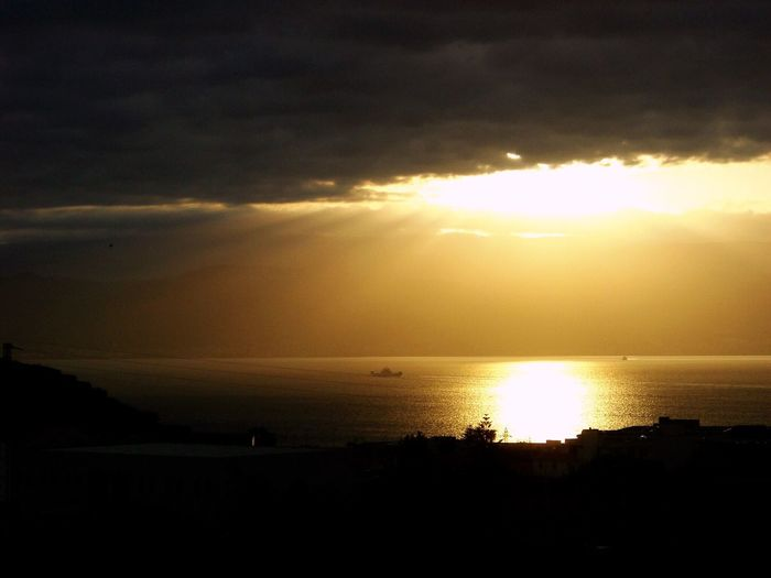 Sunset in Sicily Sunset Silhouette Scenics Sun Sea Tranquility Beauty In Nature Nature Tranquil Scene Sky Water Majestic Idyllic Dramatic Sky Reflection Cloud - Sky No People Travel Destinations Sunlight Awe Sicily, Italy Sizilien Live For The Story
