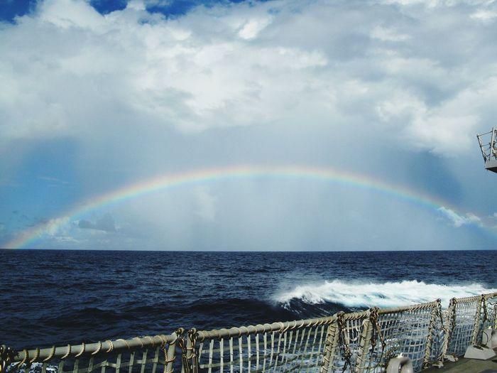 U.S. Navy Ocean Rainbow