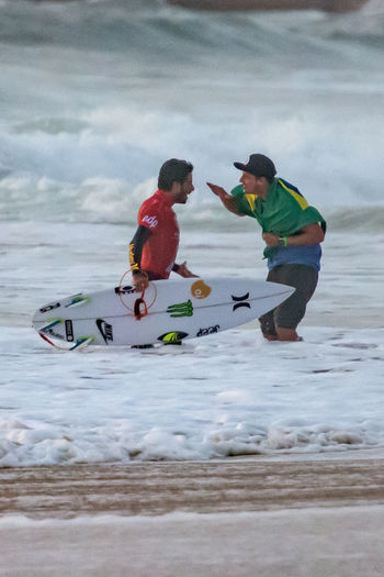 2015 Men's Samsung Galaxy Championship Tour Atlantic Ocean Champions Extreme Sports Famous Filipe Toledo Final Lifestyles Moche Rip Curl Pro Surfing Ocean Outdoors Real People Shore Stunts Sunset Surfing Vibrant Water Winner World Championship Surfing World Surf League Wsl