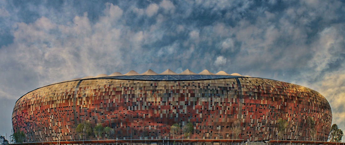 Architecture Building Exterior Built Structure Day Nature No People Outdoors Sky FNBStadium FNB Soccer⚽ Soccer Match The Architect - 2017 EyeEm Awards EyeEmNewHere EyeEm Ready   The Graphic City