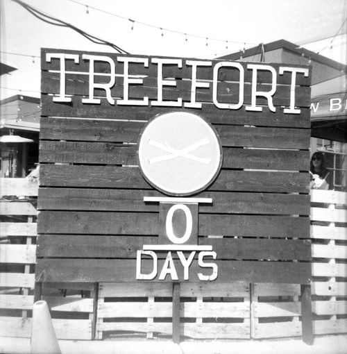 Treefort was here. Trrefort2019 Music Festival Film Photography Argus Seventy-Five Road Sign Communication Guidance Text Architecture Building Exterior Built Structure