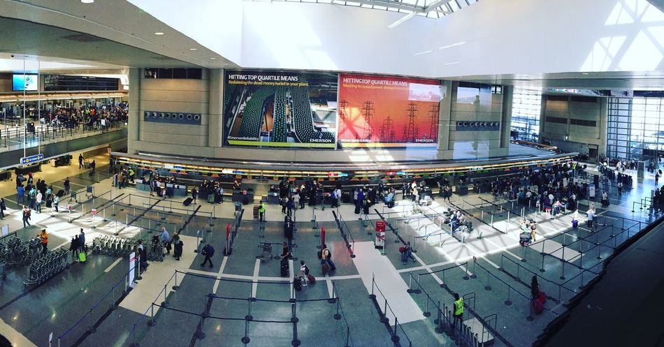 Large Group Of People Travel Destinations The 00 Mission Getty X EyeEm United States USA Photos Architecture LAX Airport International Landmark Vacation High Angle View Built Structure Walking