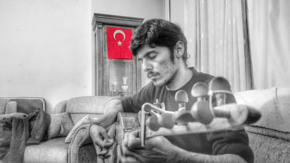 Friend Xperiaz2 Bağlama şanlıtürkbayrağı Turkey Music Concentration Thankyou Instrument PhonePhotography